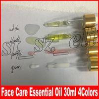cuidado verde venda por atacado-Maquiagem rosto 24 k Rose Gold Elixir Hidratante 30 ml cuidados faciais óleo essencial roxo branco preto verde