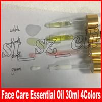 siyah bakım toptan satış-Yüz Makyaj 24 k Gül Altın İksir Nemlendirici 30 ml yüz bakımı yüz Esansiyel Yağı mor beyaz siyah yeşil gümüş