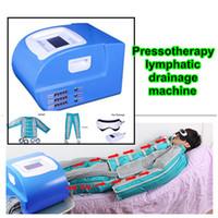 infrarot-decke wickeln großhandel-Infrarotsauna-Lymphdrainage-Massagegerät Infrarot-Thermo-Drucktherapie-Maschine für Verkauf Körper Abnehmen Wrap Decke