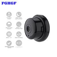 Wholesale wifi motion detector alarm - FGHGF 720P Wireless Mini Camera 2.4G Wifi Camera Support Mobile View Motion Detector And Alarm Wifi Up to 64G App YOOSEE