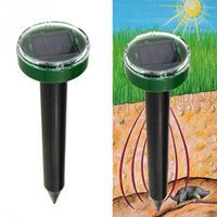 Utile energia solare Eco-Friendly Gopher ad ultrasuoni Mole Serpente Mouse Pest Respingere Repeller Control per Garden Yard