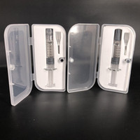 Wholesale winding jig for sale - Group buy High Quality Clear Glass Syringe Glass Injector Winding Jig For Vape Carts G2 Tank With Measurement Mark