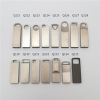 Wholesale tablet 8gb 16gb - 15 Styles Pendrive Metal USB Flash Drive G External Hard Drive Capacity GB GB GB GB Usb Memory Stick for laptop tablet computer