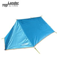 Wholesale ultralight person tent - DIY Waterproof Camping Tent Breathable Ultralight Mosquito Net Tent A Tower Tarp Shelter Ultralight Hiking Single Tents