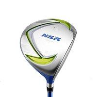 alaşımlı şaft toptan satış-Crestgolf NSR Çocuk Golf 1 # Sürücü, Hibrid Titanyum Alaşımlı Kafa, Grafit Mil, Sağ Çocuklar için Golf Kulüpleri Handed