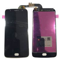 gehärtetes digitalisierglas großhandel-NEUE LCD Display Touchscreen Digitizer Für Motorola Moto G5s XT1793 XT1794 XT1792 Schwarz Weißes Gold Mit Gehärtetem Glas DHL logistik
