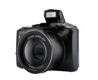 lente de zoom de vídeo al por mayor-cámara digital SLR Pantalla de visualización de 3,5 pulgadas Cámara antichoque Micro SLR de 24MP Objetivo óptico de zoom óptico de 5x cámara de video de gran angular