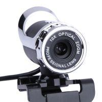 Wholesale 12 webcam resale online - WEB Webcam USB megapíxeles de alta definición cámara Web grados MIC Clip on para Skype