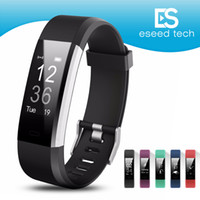 Wholesale music bands - ID115 HR Plus Smart Wristband Fitness APP GPS Activity Tracker Smart Bracelet HR Sleep Monitor Smart Band BT Camera and Music Remote Control