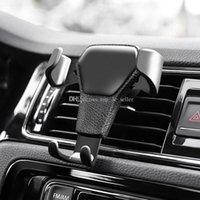 lüftungshalter großhandel-Schwerkraft-Auto-Entlüfter-Halterungs-Halterungs-Standplatz für iPhone Handy GPS