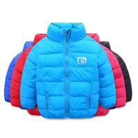 Wholesale girls kids parka jacket - OLEKID Winter Children Outerwear Coat Solid Warm Girls Parka 2-7 Years Kids Jacket For Boys Baby Girls Winter Clothes