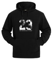 bahar yaka uzun kollu moda erkekler toptan satış-Erkekler için marka spor AJ hoodies moda spor basketbol No. 23 hoodies erkekler uzun kollu o boyun sonbahar bahar erkekler hoodies ücretsiz kargo