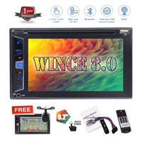 """Wholesale Automotive Gps Systems - 6.2"""" No GPS Navigation Car DVD Player Double 2 Din Automotive Stereo System Bluetooth in Dash Auto Radio Video Audio Deck Headunit"""