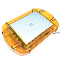 luz de advertencia del estroboscopio 24 al por mayor-HEHEMM 24 LED Car Truck Remolque 24 W Mini Base Magnética de Emergencia Flash Strobe Light Bar Luces de Advertencia de La Lámpara 12 V / 24 V