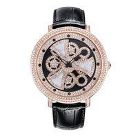 мужские наручные часы оптовых-New Cool Big Dial Watch Female Rotating Quartz Watch Women Fashion Watches Top  Ladies Clock Waterproof Table Steel