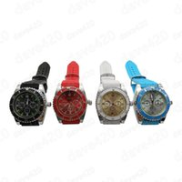 Wholesale grinder watches - Unique design watch smoke filter metal herb grinder for tobacco smoking with blue color and DHLfree shipping GD-018
