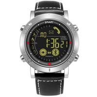 relógios de pulso venda por atacado-Moda Relógio Inteligente À Prova D 'Água 3ATM Passometer Mensagem Lembrete Ultra-Longo Espera Homens Relógio de Natação Ao Ar Livre Esporte Smartwatch