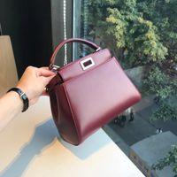 Wholesale B Lock - 70212018 Plain B Brand Top-handle Women Handbag Solid Ladies 100% Genuine Lether Shoulder Bag Casual Large Capacity Tote Crossbody Bags