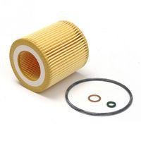 ingrosso olio bmw-Kit filtro olio auto 11427566327 per BMW 3/5 525LI X3 X5 con distanziale