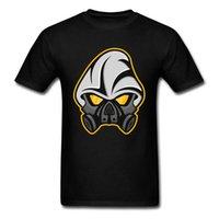 mascarilla diseña color al por mayor-New York Cool Mask T-shirt Diseño de dibujos animados Hombres Negro Top camisas de manga corta de algodón Tees 2018 Wholesale Grey Color Logo