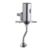 válvulas de descarga de inodoro al por mayor-Enjuague automático del urinario Auto Urinal Flusher Valve limpiador del inodoro de acción propia / Sistema de sensor de tanque rasante