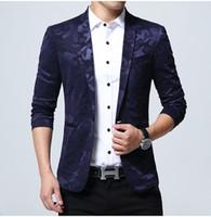 Wholesale mens suit jacket pattern - Hot Sale Mens Camouflage Pattern Blazer Jacket Slim Fit Suit For Big Men Plus Size Camo Blazers Suits 4XL 5XL