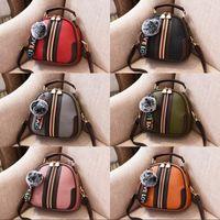 Wholesale new arrival winter shoulders handbag - New Arrival Winter Fashion PU Leather Ladies Mini Bag Shoulder Bag Female Simple Trend all-match Handbag