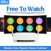 caja iptv árabe gratis al por mayor-Europa IPTV Box Reino Unido Suecia Francés Árabe IPTV Box con 1 año de suscripción a IUDTV, ver canales de TV es píxeles 480P píxeles, 720P, Pixe