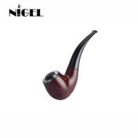 ingrosso la migliore e nuova sigaretta-Nigel Mini E Pipa 628 Kit Fumatori Best E Pipa Vaporizzatore New 618 Vape Mod Pipa Eletronic Cigarette Big Vapor in Legno E Cig a buon mercato