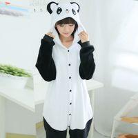ace46afc4b2c6 Anime Pyjamas Onesie Kigurumi Panda Pijama Enfants Femmes Vêtements De Nuit  Combinaison Pour Enfants Adulte Hommes Onesie Femmes Robes Maison Vêtements