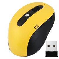 drahtlose mausrolle großhandel-Maus Raton USB Drahtlose Professionelle 2,4 GHz Schnurlose Maus Optische Scroll Mäuse Für PC Laptop computer 18Aug6