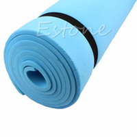 Wholesale foam sleeping mats for sale - Group buy 1PC Dampproof Eco friendly Sleeping Mattress Mat Exercise EVA Foam Yoga Pad