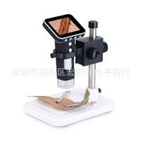 polegar do microscópio venda por atacado-ALDXM11-UM015, Microscópio Digital 500X Integrado 2.4 Polegada Tela 2MP USB PC Câmera Eletrônica Pcb Reparação Lupa Ferramentas