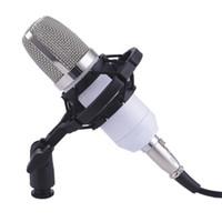 metalldraht herz großhandel-Professionelles kabelgebundenes, professionelles kapazitives KTV-Mikrofon herzförmige Audio-Voice-Metallhalterung BM700