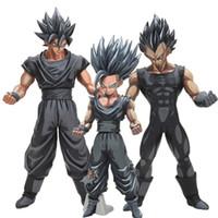 Wholesale Kid Gohan - 26cm Dragon Ball Z Super Saiyan Son Goku Vegeta Gohan Msp Master Stars Piece Goku Black Chocolate Pvc Action Figure Toy