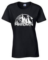 ingrosso maglietta felpata-Maglietta Hogwarts Herren Harry Potter Inspiriert Geschenk Damen