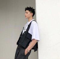 coréen gilet de mode achat en gros de-HOT Haute qualité été nouveau outillage gilet mâle mince Tides gilets veste coréenne hommes tendance top étudiant jeunesse vestes Fashion