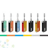 vape pen batterie designs großhandel-Original Rock 710 Vape Pen Akku von Vapmod 650mAh Vorheizung Vibration Klappdesign Rock710 Fit Thick Ölkartuschen Wachs DHL Free