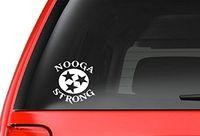 vinilo adhesivo a4 al por mayor-Car Styling Nooga Strong (A4) Chattanooga, TN Tennessee Soporte Vinyl Decal Sticker Car / Truck Laptop Netbook Ventana
