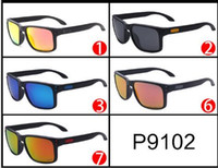 Wholesale pc meter - HOLBROOK 9102 VR46 Meters Nail Square Sunglasses Polarized Outdoor Riding Glasses Europe and The United States Men and Women General Shades