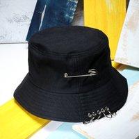 Wholesale men's sun hats resale online - Outdoor Accs Beach Sun Women Ring Bucket Hats Men s Hip Hop Bucket Caps Fisherman Hat Gorro Panama Pescador Outdoor Caps