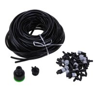 Wholesale sprinkler pipes for sale - Garden Plant Automatic Watering Kits25m DIY Micro Drip Sprinkler Irrigation System PVC Lateral Sprinkler Heads Base Three Pipe
