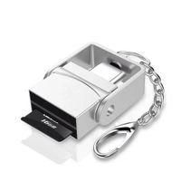 tarjeta de teléfono celular lector al por mayor-USB 3.1 Tipo C Adaptador de lector de tarjetas USB-C a TF para teléfono celular Macbook Samsung Huawei Xiaomi
