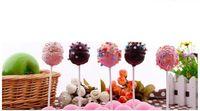 bastões de doces pop venda por atacado-3.5X150mm papel Lollipop Sticks para Bolo Pops Pirulito chocolate Doce, uma caixa 10000 pcs, frete grátis
