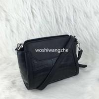 Wholesale Diagonal Zipper - women shoulder bag pattern Handbag With Crossbody Strap Colors snake Serpentine leather shoulder diagonal zipper fashion bag