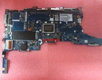 ingrosso processori hp-per HP 745 G3 827575-001 UMA W / processore A10 Pro-8700B Scheda madre del notebook per notebook portatile testato