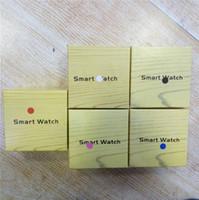 poignet de caméra achat en gros de-Haute Qualité A1 Smartwatch Bluetooth Smart montres Support SIM TF Carte Smart Wrist Montres Silicone Strap Smartphone avec Paquet