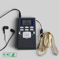 radyo anteni kur toptan satış-Dahili Anten Dijital FM Radyo Mini Hoparlör Taşınabilir Alıcı Müzik Çalar LCD Ekran Kiti Ekran Çift Kanal Tek Bant