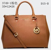 f88df628a1ab Michael Kors 2018 Famous Brand M K Totes bags luxury women Genuine leather Bags  Fashion lady Handbag Factory wholesale In Stock Real Image
