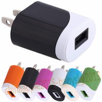 Wholesale home cellphone online - US Ac home wall charger power adapter V A mah cellphone chargers for iphone x Samsung s6 s7 note android phone mp3